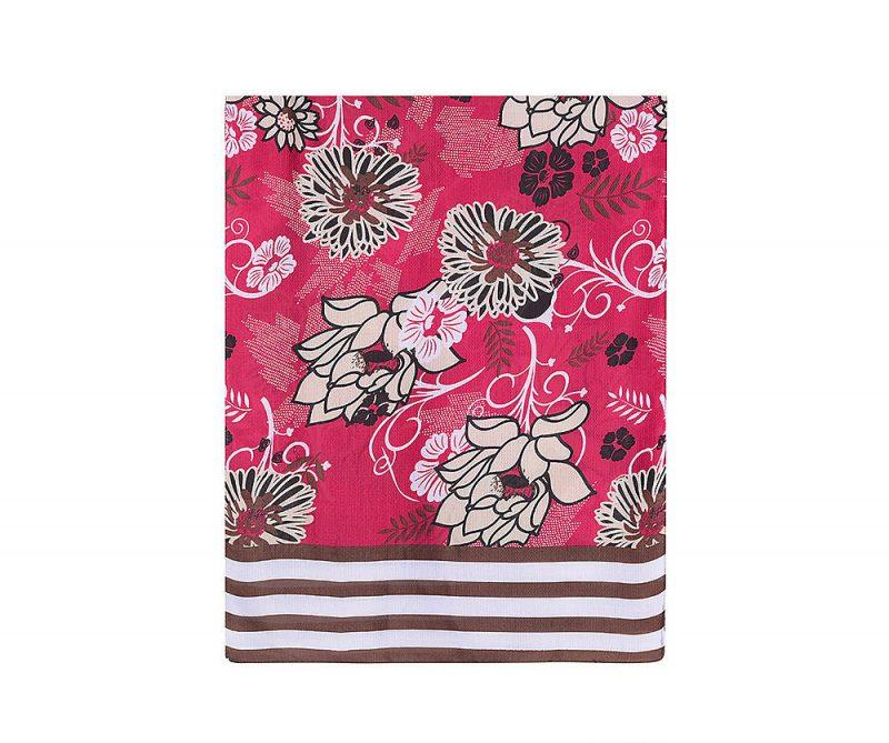 foulard_fleurs_et_rayures_rose_motif