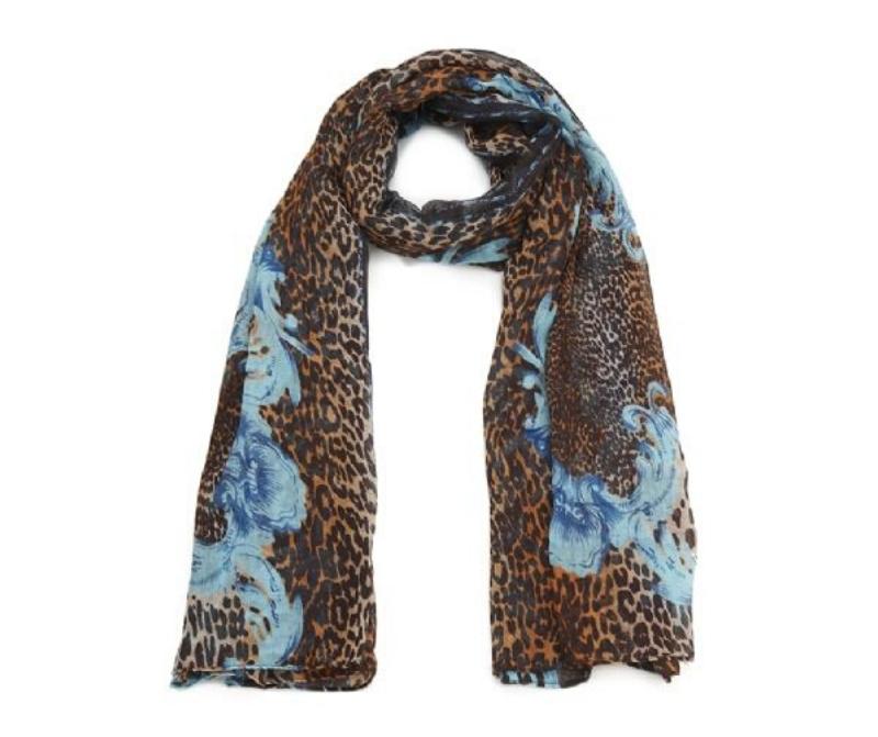 foulard_leopard_marron-et_bleu_motif