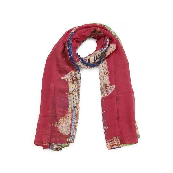 foulard_motif_urbain_fushia_chale_mjp