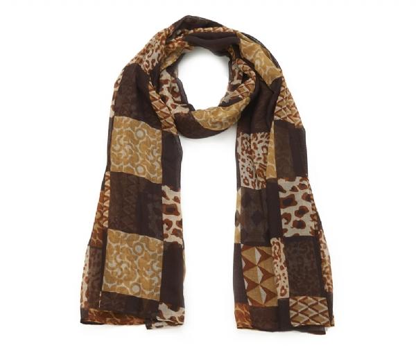 foulard_patchwork_animalier_marron_mjp