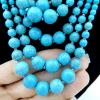 Parure_collier_bracelet ethnique_pierre_naturelle_turquoise_bijou